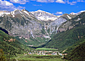 Telluride Spring canyon view